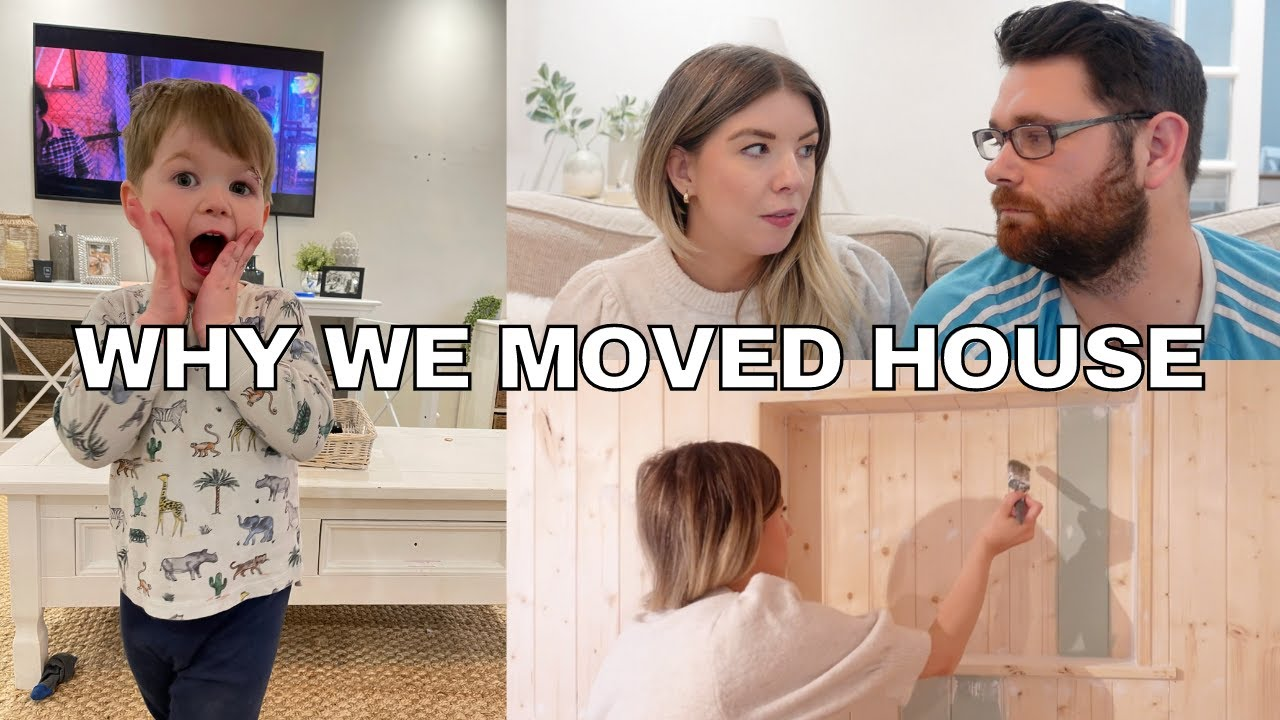 WHY WE MOVED HOUSE | FAMILY VLOG & Q&A | KATE MURNANE