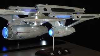 Microprocessor Controlled Polar Lights 1/350 Refit Enterprise