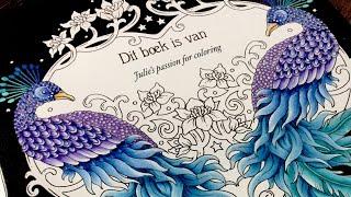 Smyckeskrinet (Juwelenkistje) by Hanna Karlzon - prismacolor pencils - PART 1
