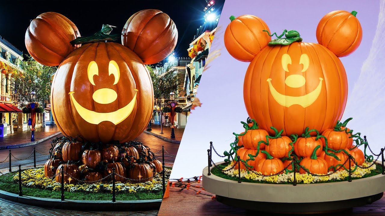 Main Street Mickey Pumpkin