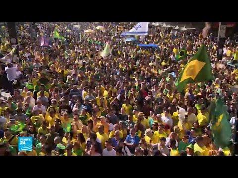 المرشحان للرئاسة البرازيلية يحشدان أنصارهما قبل أيام من الجولة الثانية  - نشر قبل 2 ساعة