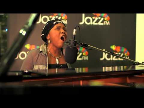 Carleen Anderson in session at Jazz FM