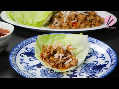 chicken-lettuce-wraps