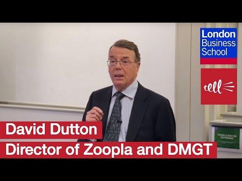 David Dutton -  A Hands on Business Angel | London Business School
