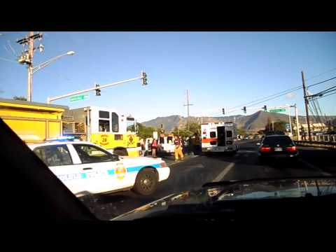 Schofield Barracks Fort Shafter Go Army Homes auto accident in Waianae