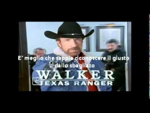 walker texas renger sigla testo italiano