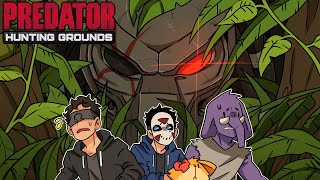 WELCOME TO MY JUNGLE! | Predator: Hunting Grounds (w/H2O Delirious, Ohm, Rilla, & Squirrel)