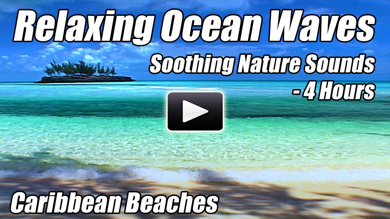 Relaxing Ocean Waves Sounds of Nature Relaxation Calming Water Sea for  Meditation Relax sleep video