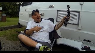 Van Life: Nomadic Fanatic & Linescrew1 border BBQ