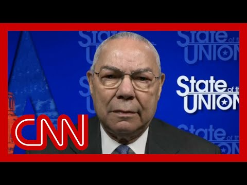 Colin Powell: President Trump has drifted away from the Constitution