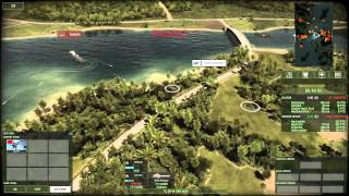 Wargame Red Dragon - River Boats (live)
