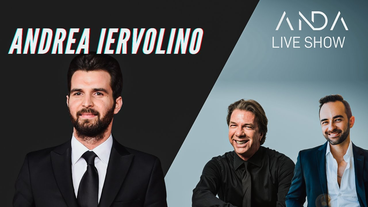 ANDA Live Show con ospite Andrea Iervolino