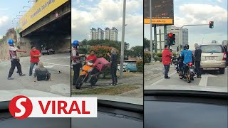 Duo arrested over brawl near Sprint Expressway