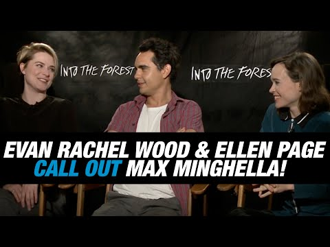 Evan Rachel Wood & Ellen Page Call Out 'Into The Forest' Co-star Max Minghella During Interview