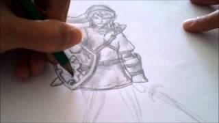 comment dessiner zelda