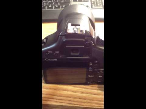 How to change the shutter speed on a eos Rebel canon.