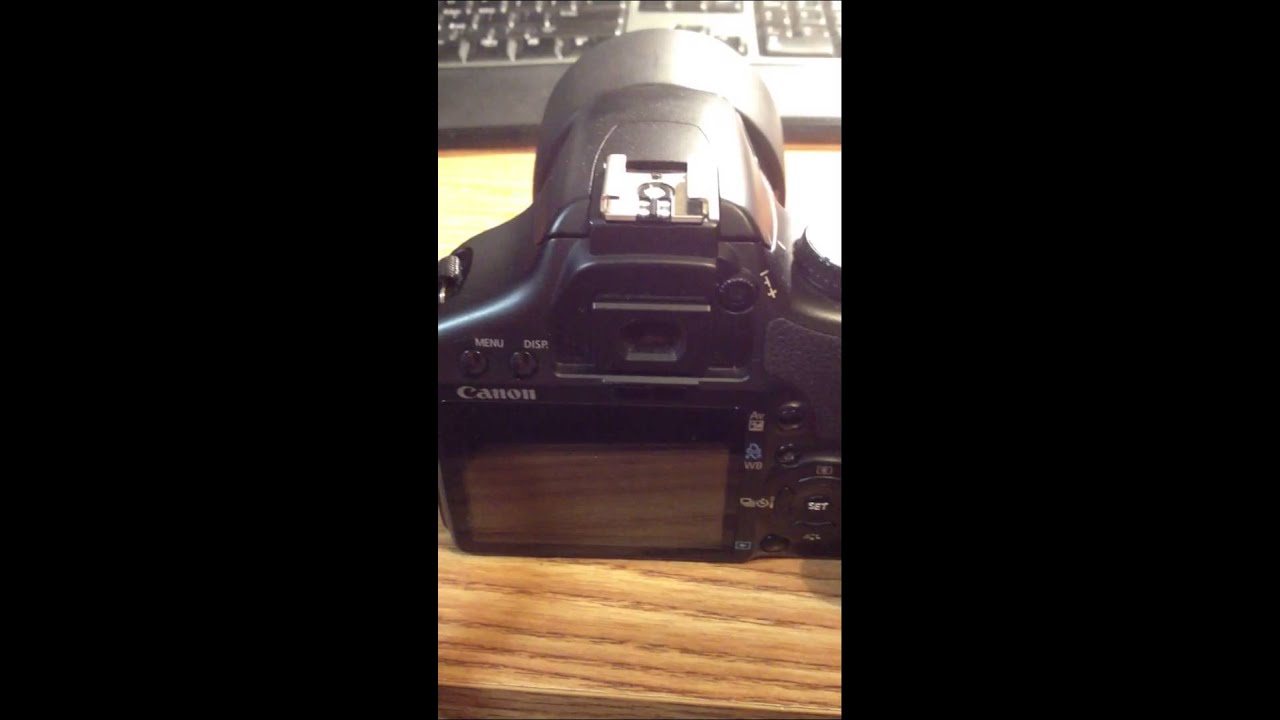 How to change the shutter speed on a eos Rebel canon