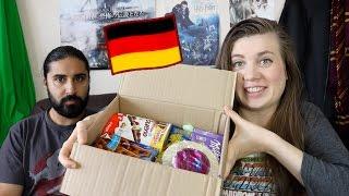 פתיחת קופסא- Candy German