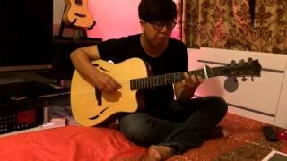 Dấu mưa guitar solo (demo) -Tiến Nguyễn