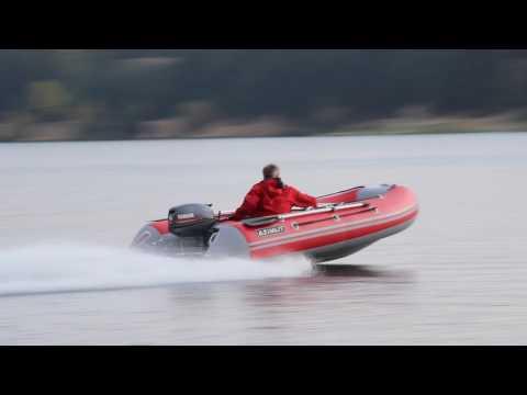 Лодка пвх с нднд Азимут 330 , мотор Ямаха 15 л.с.