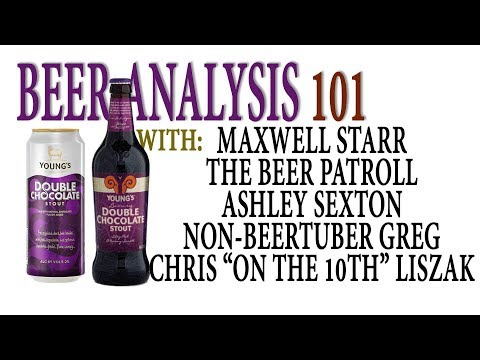Beer Analysis 101: Young's Double Chocolate Stout