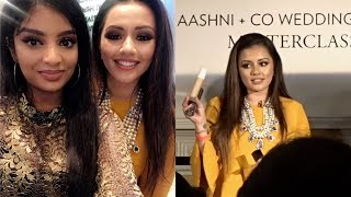 Vlog: Kaushal Beauty Masterclass, Aashni + Co Wedding show | Nivii06