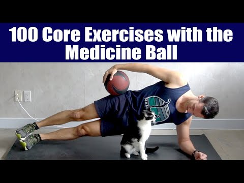 100 Core Exercises with the Medicine Ball