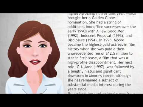 Demi Moore - Wiki Videos
