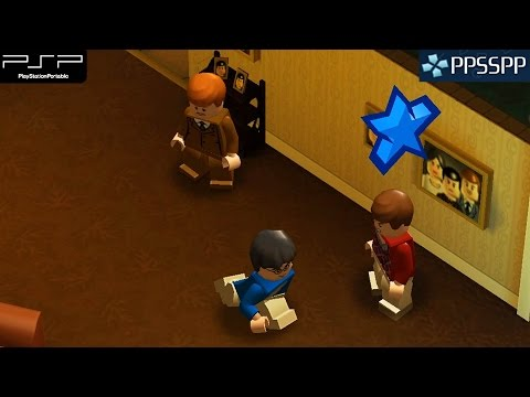 Lego Harry Potter: Years 1–4 - PSP Gameplay 1080p (PPSSPP)
