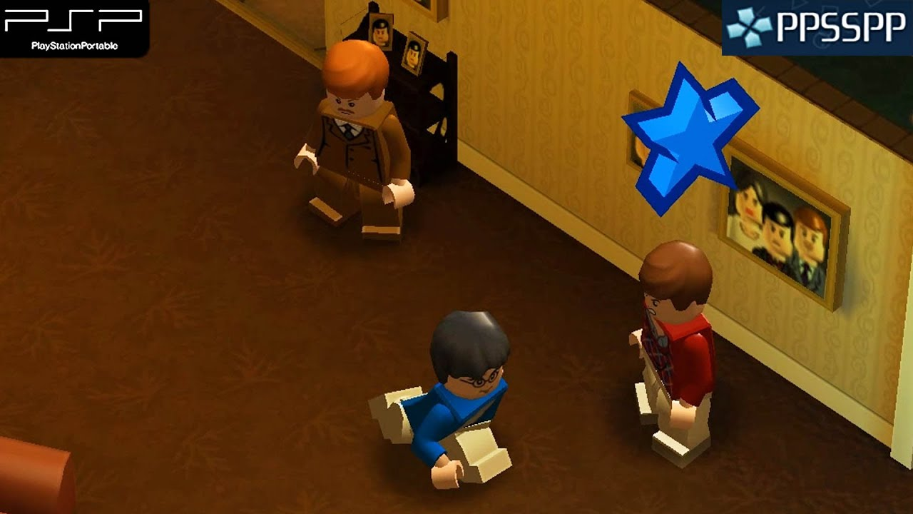 Lego Harry Potter Years 1 4 Psp Gameplay 1080p Ppsspp Youtube