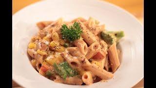 Sweetcorn Pasta | Tagda Tadka | Sanjeev Kapoor Khazana