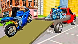 Bike Transport Truck Driver - Android HD Gameplay Video
