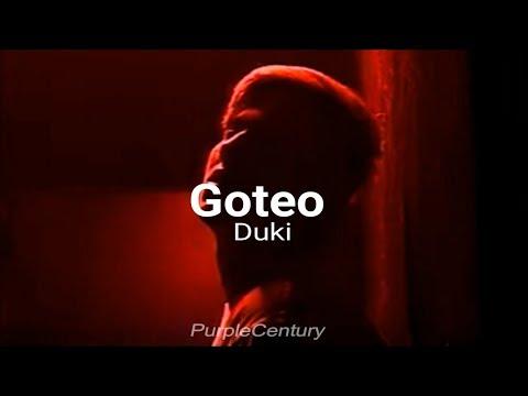 DUKI - GOTEO // LETRA