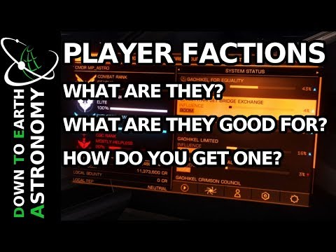 Player factions. What, Why and How? | Elite: Dangerous