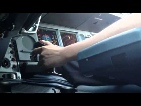Airbus A330 Takeoff Sidestick View