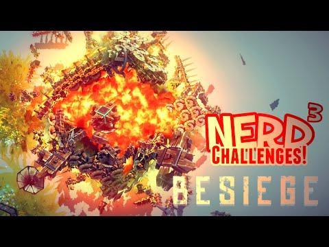 Nerd³ Challenges! Take Flight! - Besiege