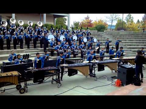 Foothill High School Marching Band 2011 - Terranova (Closer)