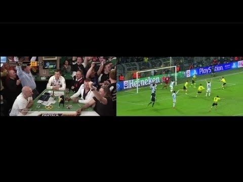 LIVE 1-2, 2-2, 3-2 BVB-Malaga CL12/13 Fantalk vs Livespiel 09.04.2013