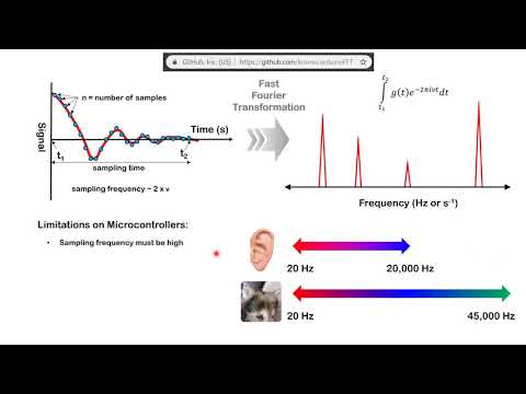 ESP32 to process audio signals: Software (Fourier Transforms