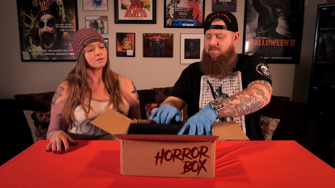 The Haunted Honeymooners   Dark Web: Mystery Box Unboxing