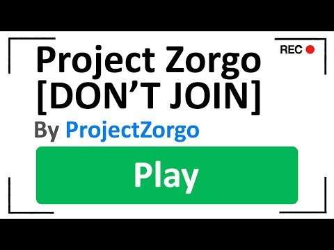 Ghost Found SECRET Project Zorgo Game.. (Roblox)