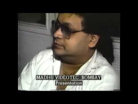 "BAPPI LAHIRI RECORDING ""BAANKE SAJAN GHAR AAYE"" 1990"