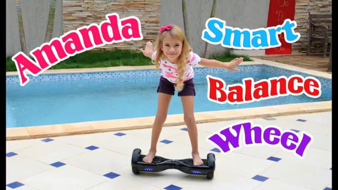 miss amanda no seu smart balance wheel hoverboard youtube. Black Bedroom Furniture Sets. Home Design Ideas