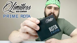 PRIME RDTA By Limitless Mod Company Review & Wicking Tutorial | How To Replace Glass Tank