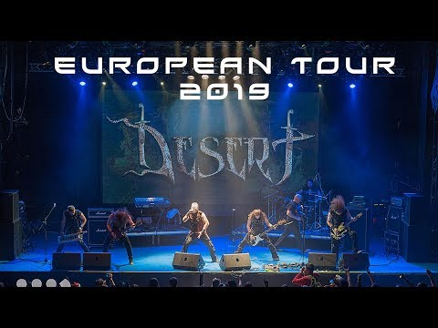 DESERT - European Tour 2019 announсement!