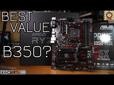 Asus Prime B350 Plus Review | Best value B350 motherboard?