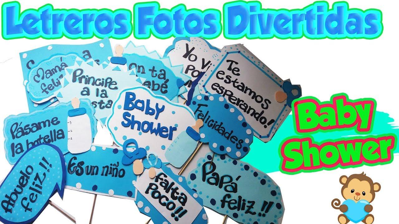 Baby Shower Niñoletreros Fotos Divertidas Diy Manualidades