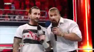 "CM Punk Hilarious Moment-""Can I wear your Blazer?""WWE RAW 10/10/11"