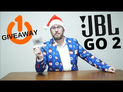 JBL GO 2 Bluetooth Speaker Unbox and Review -12 Days of Giveaways - Day 1!