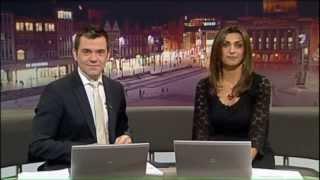 New Patriot Steam Loco 'The Unknown Warrior' on ITV Central News 21st Nov 13